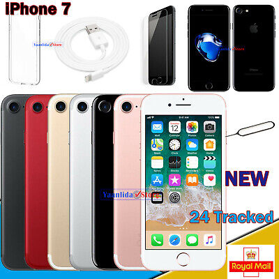 UNLOCKED NEW Apple iPhone 7 - 32GB/128GB/256GB - All Colours - Various Grades UK