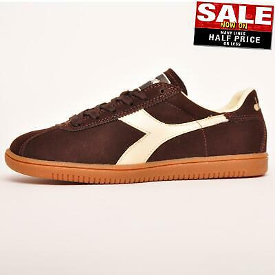 Diadora Leather Action Mens White Trainers for Men Lyst