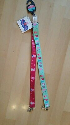 Peppa Pig Girls Belts x 2 Snake Age 4-5-6 yrs Elasticated from BNWT new M & S