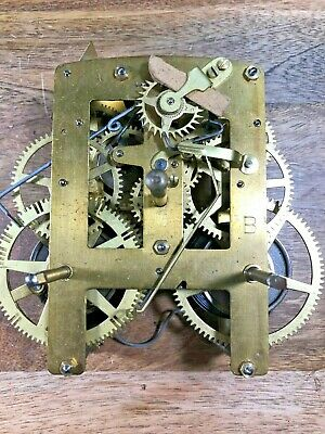 Made in India Clock Movement For Parts/Repair (Untested/NOS ?) (Lot K1021)