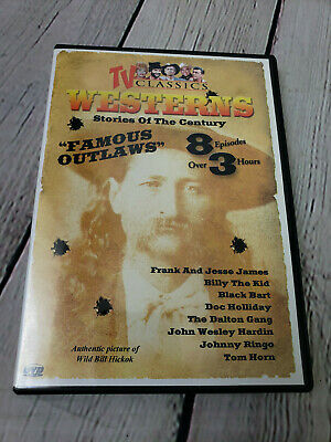 TV Classics  Westerns Vol. 4 Stories of the Century Famous Outlaws DVD