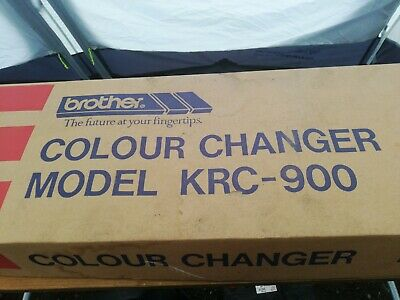 Brother knitting machine KRC900 double Bed Colour Changer,  with Manual