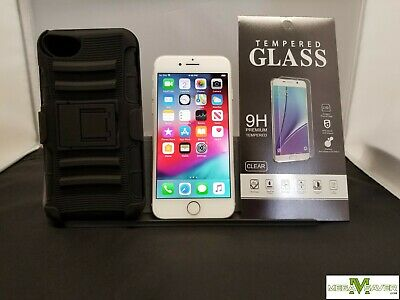[4836]Great! Apple iPhone 8 A1863 64GB Silver Sprint Only + FREE Accessories