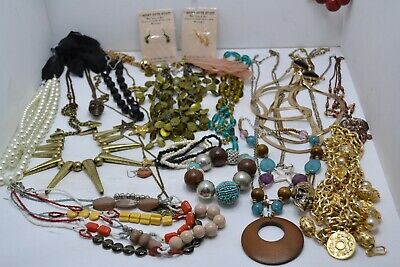 Job Lot Bundle of Mixed Condition Modern & Vintage Jewellery - Approx 1.7 kg