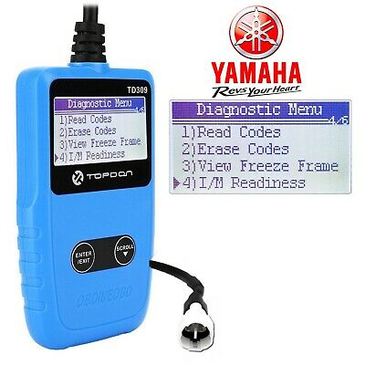 Yamaha  YZF-R125  2019 OBD fault code scanner diagnostic tool