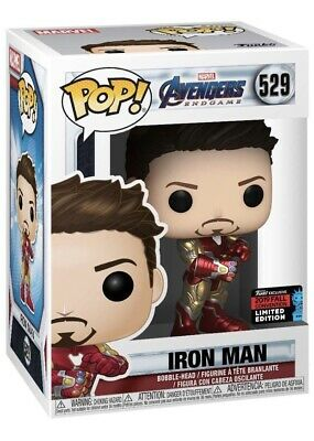 Funko Pop Iron Man Tony Stark Gauntlet Marvel Avengers Endgame NYCC 2019 Amazon