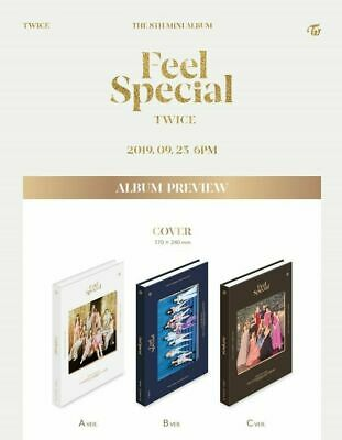 Twice Feel Special 8th mini album [NO PHOTOCARDS]