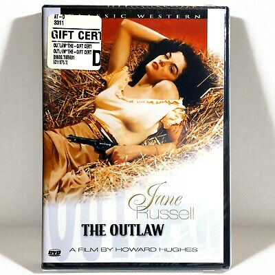 The Outlaw (DVD, 1943) Brand New !  Jane Russell  Walter Huston