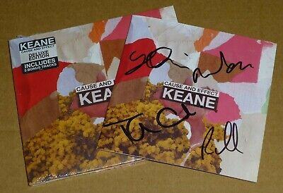Keane : Cause And Effect - Deluxe CD Album (SIGNED) Limited Edition, In-Stock