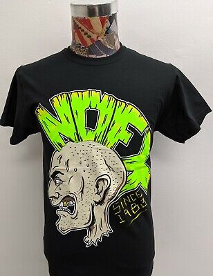 AUTHENTIC NOFX OLD DRINKING MOHAWK SKULL PUNK ROCK BAND T TEE SHIRT S M L XL