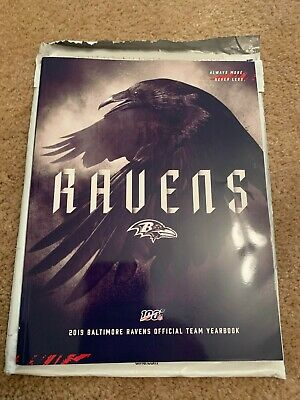 Baltimore Ravens 2019 Official Team Yearbook - NEW - NFL 100 Anniversary