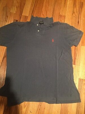 Green Men's Vintage Ralph Lauren Polo Shirt Size Medium