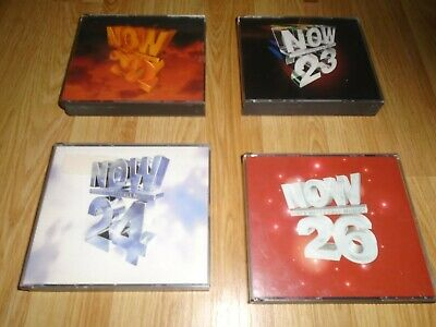 Now That's What I Call Music 22 23 24 & 26 CD Original Fat Box