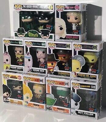 Funko Pop! New York Comic Con (NYCC) 2019 Shared Exclusive choices