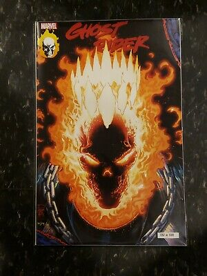Nycc 2019 Ghost Rider 1 Glow In The Dark Exclusive Limited Tan Variant