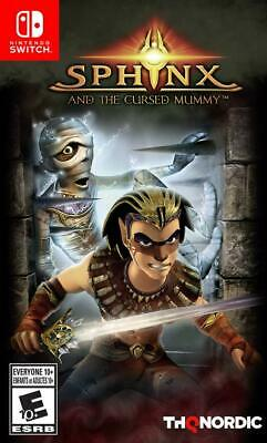 Sphinx And The Cursed Mummy Nintendo Switch Rare Family Kids RPG Adventure Game
