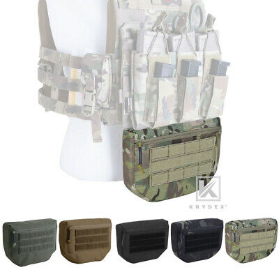 KRYDEX Dangler Drop Dump Pouch Fanny Pack Storage Tool Bags for Plate Carrier