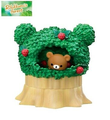 RE-MENT San-X Rilakkuma's Forest Mini Figure Chairoikoguma Wild Strawberry Tree