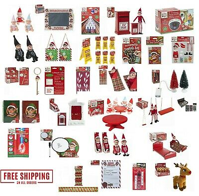 Elf Accessories Props Put On The Shelf Ideas Kit Christmas Decoration Xmas Toy