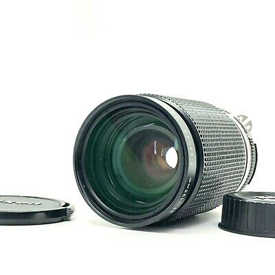 【N MINT】Nikon Zoom-NIKKOR 35-135mm f/3.5-4.5 Ai-S AIS MF Lens W/Caps From Japan