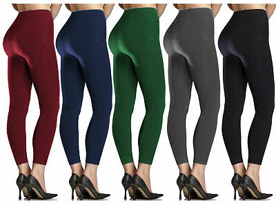Women Ladies New Winter SOFT Thermal Thick Fur Fleece Lined Legging SIZE 8-18