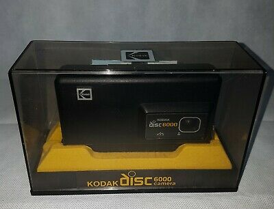 Vintage Kodak Disc 6000 Camera with Manuals fully boxed