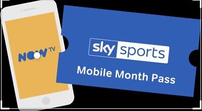 1 Month Sky Sports Mobile Pass On NowTv