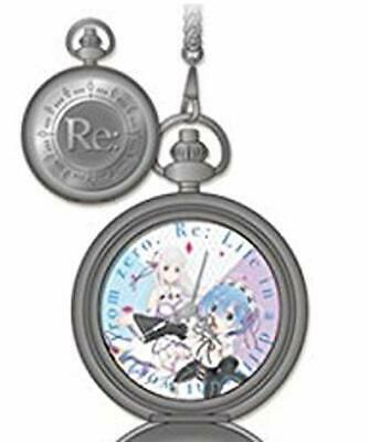 Re:Zero-Starting Life in Another World pocket watch 2 Emilia, REM (Single item)