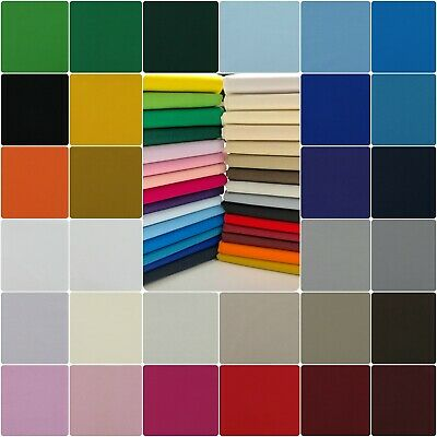 Plain 100% Cotton Fabric For Crafts Patchwork & Quilting - Sold By The Metre 🧵✂