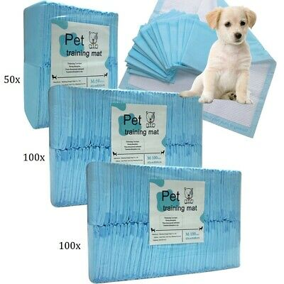 Puppy Pads Dog Pet Toilet Training Strong Dry Absorption 50/100