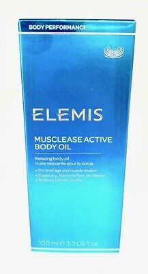 Elemis Musclease Active Body Oil 3.4oz / 100ml BRAND NEW*