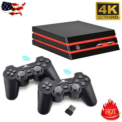 HDMI Retro TV Game Console 600 Built-in Games Scalable 2×Wireless Controller US