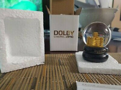 Downton Abbey Movie Fan Event Exclusive Snow Globe AMC Dolby Cinema