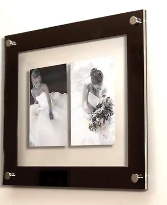 """5 x 7"""" Picture photo frame multi floating wall frame  7 x 5"""" Cheshire Acrylic"""