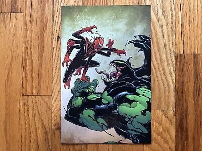 Absolute Carnage: Miles Morales #2 NYCC Marvel Panel Exclusive RARE Venom Hulk