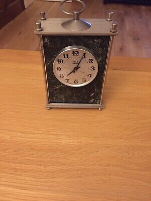 Vega 14 Jewel Russian USSR Mable Mantle Clock