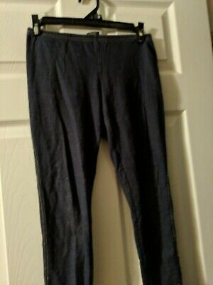 Faded Glory Girls Size 10/12 Jean Look Stretching Leggings
