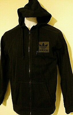Adidas Mens Zip Up Jacket with Hood. Size XS Adult