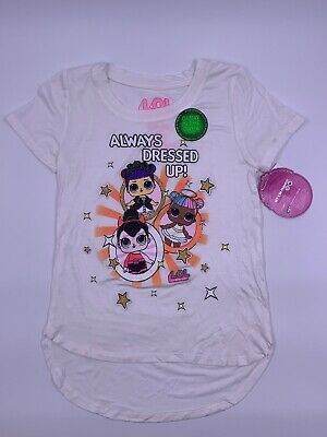 LOL Surprise! Doll Halloween Costume Dress Up Angel Devil Glow T-Shirt XL 14/16