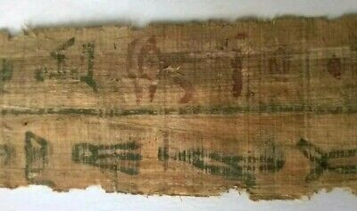 Ancient Egyptian Papyrus. Private collection