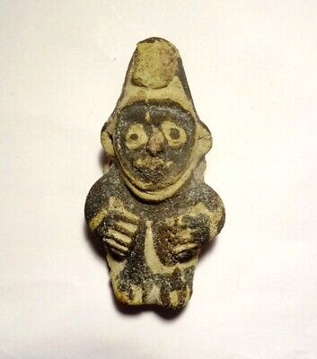 Amulette Chancay - Precolombien - 1000 Ad Peru - Pre-Columbian Chancay Character
