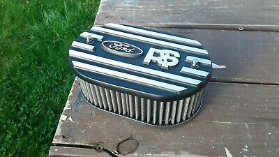 capri etc alloy k/&n air filter top speckled grey,brand new Ford escort