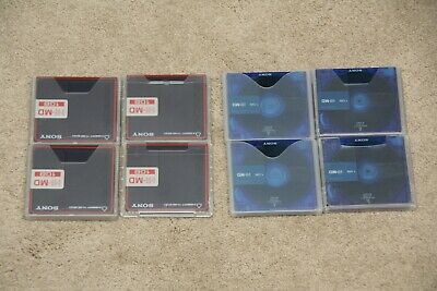 8 x SONY Hi-MD 1GB Minidisc MD Mini Discs