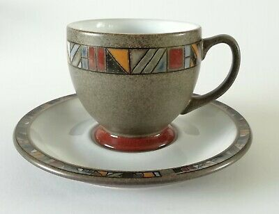 Denby Marrakesh Single Tea Cup and Saucer - FREE UK POSTAGE