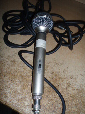 Pearl Dm - 150 Microphone And Cable - Collectors Item