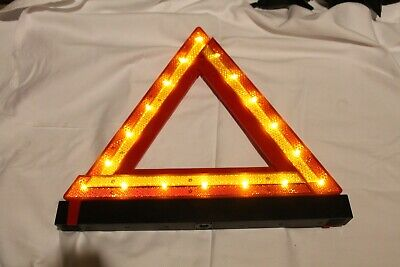 Full Size Hazard Warning Triangle Electric Flashing