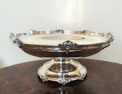 Quality Solid Sterling Silver Footed Bowl Sheffield England by Walker & Hall