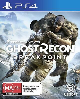 Tom Clancys Ghost Recon Breakpoint Sony PS4 Action Shooter Game Playstation 4