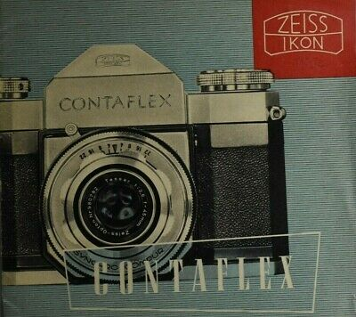 ZEISS IKON CONTAFLEX - German brochure