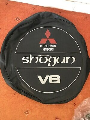 Mitsubishi shogun spare wheel cover genuine